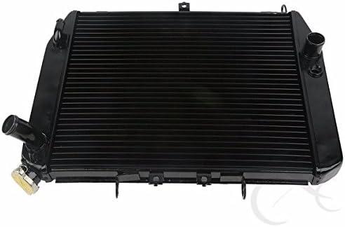 Black-Engine-Radiator-Cooler-Cooling-For-Kawasaki-Ninja-ZX12R-ZX-12R-2000-2001