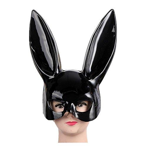 Seeshine Halloween Costume Party Rabbit Ear Mask Bunny Mask Easter Bunny Mask (Bright - Kim Kardashian Costumes