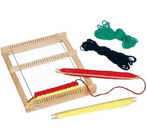 Pure Toys Telar de Madera para niños: Amazon.es: Juguetes y juegos