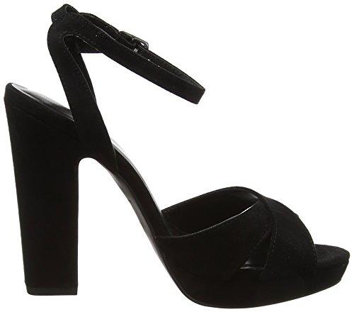 New Look Women's Suzie Strap Platform Sandals Black (Black) AOtIij80U