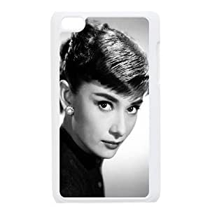 Custom High Quality WUCHAOGUI Phone case Movie & TV Super Star Audrey Hepburn Protective Case FOR IPod Touch 4th - Case-2