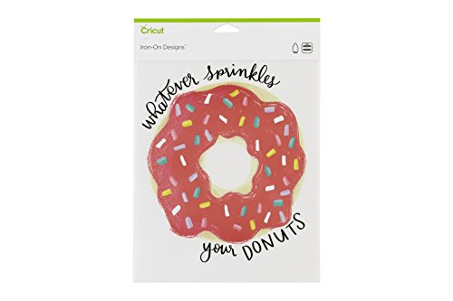 Cricut Iron On Designs, Whatever Sprinkles Your Donut 8.5