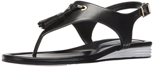 Cole Haan Women's Rona Grand Flat Sandal, Black, 6.5 B US by Cole Haan