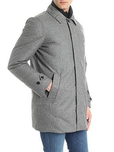 Lana Outerwear Uomo Giacca Wocps2754lp061368 Woolrich Grigio f8ZTqfw