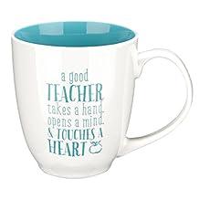 Mug Good Teacher Blue 1 Corinthians 16: 14