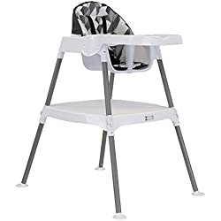 ZOE High Chair (4-in-1 High Chair, Grey Blocks)