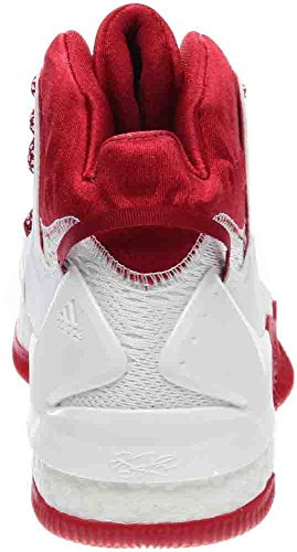 adidas SM D Rose 7 NCAA Red;white Inexpensive cheap price 86p9V