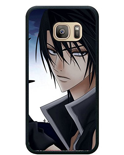 S7 TPU Protective Case with Uragiri Wa Boku No Namae O Shitteiru Betrayal Knows My Name Boy Brunette Sword Look Black for Samsung Galaxy S7 Black TPU Cover