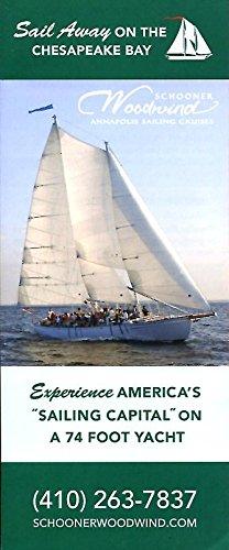 SAIL AWAY ON THE CHESAPEAKE BAY /ANNAPOLIS MARYLAND /FOLDOUT BROCHURE & MAP++ ePub fb2 book