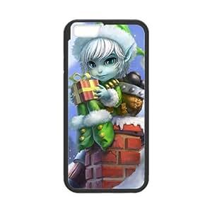 iPhone 6 Plus 5.5 Inch Cell Phone Case Black League of Legends Earnest Elf Tristana Yxfn