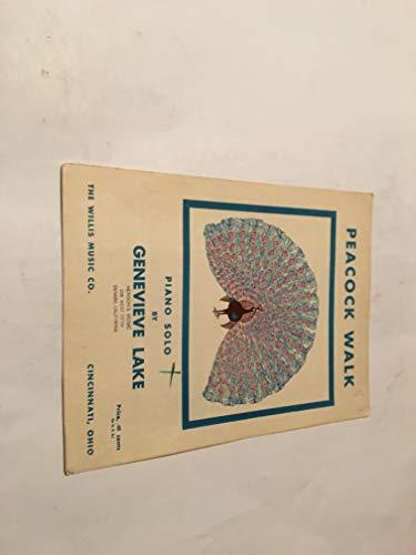 PEACOCK WALK SHEET MUSIC - Genevieve Accessory