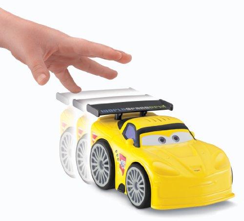 Fisher Price Shake N Go Disney Pixar Cars 2 Jeff Gorvette