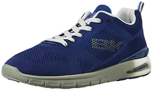 British Knights Men's Energy Navy and Grey Mesh Sneakers