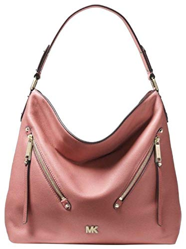 Evie large leather shoulder bags