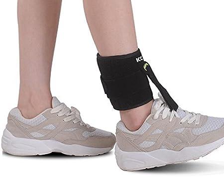 OBER - Soporte ajustable para no apoyar el pie (poliomielitis, hemiplegia, aplopegía), talla única