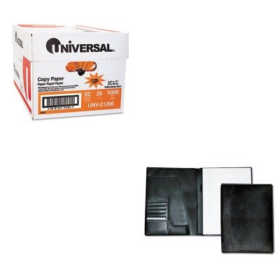 KITBUXOC87795BKUNV21200 - Value Kit - Buxton Men's Classic Pad Folio/Writing Pad (BUXOC87795BK) and Universal Copy Paper (UNV21200) by Buxton