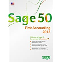Sage 50 First Accounting 2013 (CD-ROM)