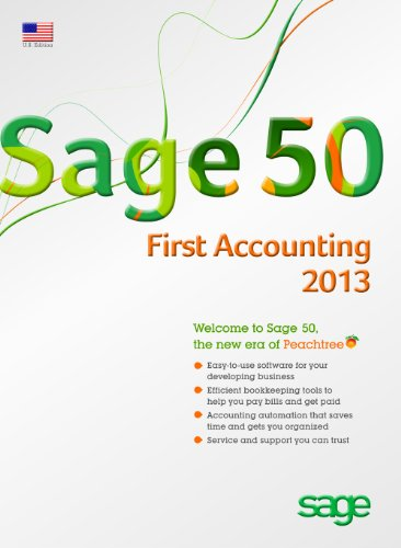 Sage 50 First Accounting 2013 (Microsoft Accounting Payroll)