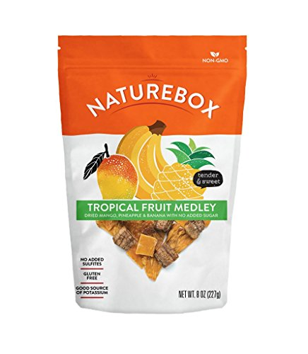 rt Tropical Mix Dried Bananas, Pineapple & Mango (Tropical Medley) ()