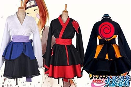 GJBXP personalizado Naruto Shippuden Uzumaki Naruto mujer Lolita ...