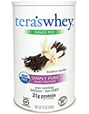 teraswhey Simple Pure Whey Protein, Bourbon Vanilla, 12 oz