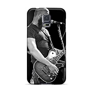 Best Cell-phone Hard Cover For Samsung Galaxy S5 (MtS15203CIwR) Support Personal Customs Stylish Asking Alexandria Band Image