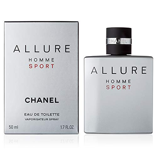 ChàNèl Allure Homme Sport Men Eau de Toilette Spray 1.7 OZ./ 50 ml. (Bleu De Chanel Eau De Toilette Spray 50ml)