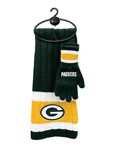NFL Green Bay Packers Scarf & Glove Gift Set -