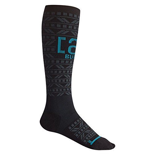 (Burton Ak Freebird Sock, True Black, Small)