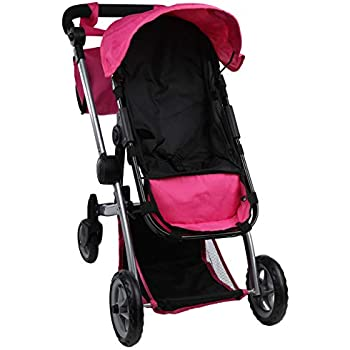 Amazon Com Mommy Amp Me Deluxe Babyboo Doll Stroller Toys