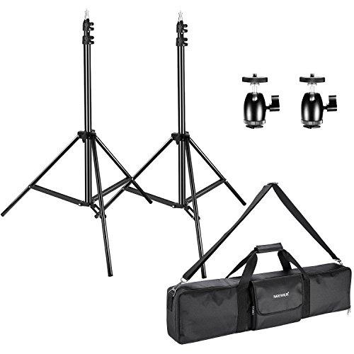 2 packs adjustable light stands