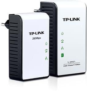 TP-LINK TL-WPA271KIT adaptador y tarjeta de red - Accesorio de red (Color blanco, 10/100 Mbit/s, Inalámbrico, IEEE 802.11n, IEEE 802.11b, IEEE 802.11g, IEEE 802.11n, 10/100BaseT(X))