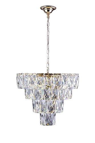 Lustre Fasano 50Cm LED, Startec, 140140012, 81 W, Dourado Bivolt