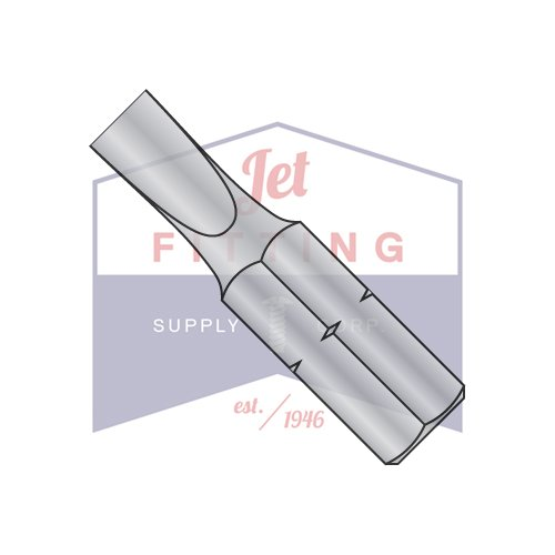 12-14 X 1 X 1/4 Slotted Insert Bits / Point Size: #12 - #14 | Length 1