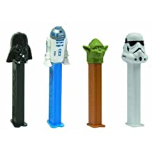 Star Wars PEZ Candy Dispensers: Pack of 12