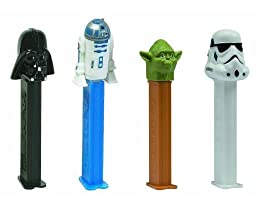Star Wars PEZ Candy Dispensers Pack of 12