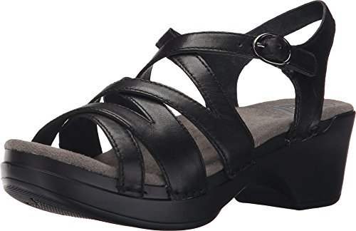 Dansko Women's Stevie Black Full Grain, 39 EU/8.5-9 M US ()
