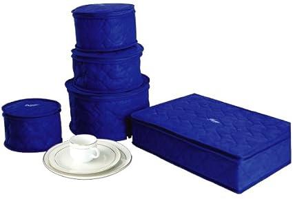 Hagerty 19771 China Storage Set Of 5, Blue