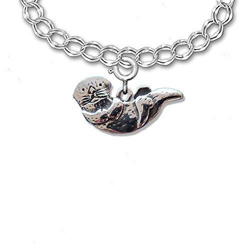 Sterling Silver Otter Charm ()