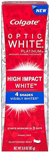 Colgate Platinum Anticavity Toothpaste Glistening