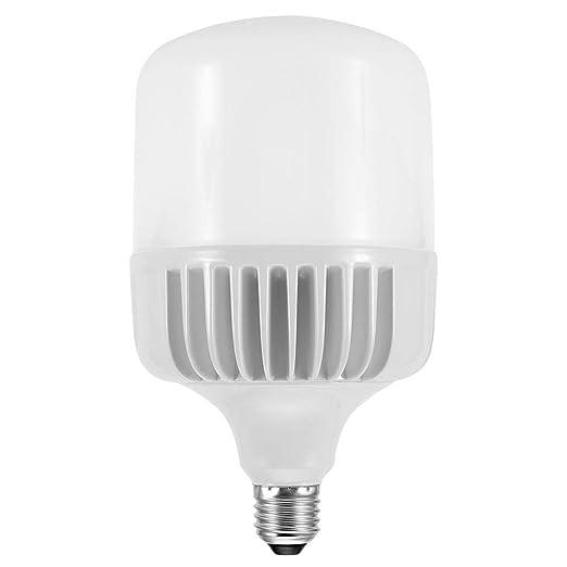 Riuty E27 Light Bulb, 2 Pack Aluminium LED Bulb Alto Impermeable Alto Brillo Cargo Storag Warehouse Lighting: Amazon.es: Hogar