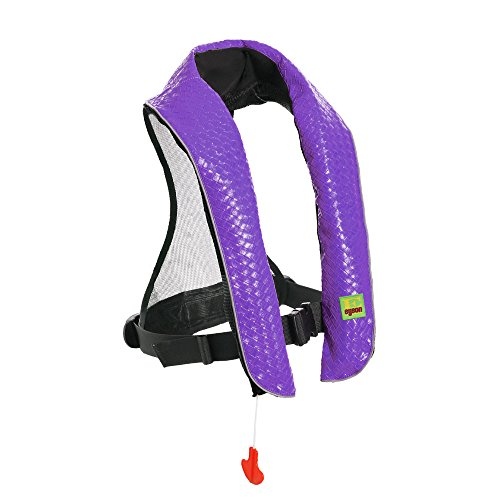 Eyson Inflatable Life Jacket Inflatable Life Vest Deluxe lea