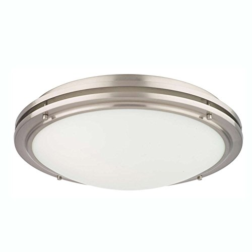 Philips Forecast F245036U West End Ceiling Light, Satin Nickel ()