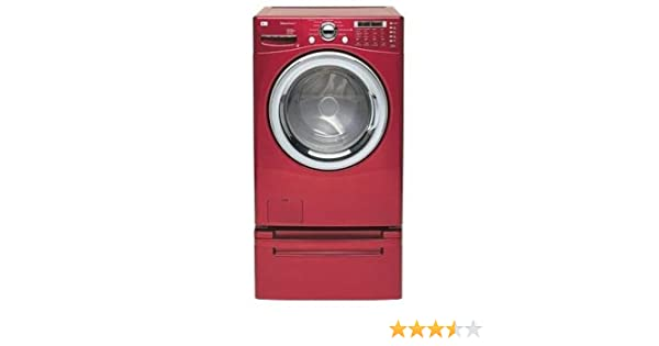 Amazon.com: LG : WM2487HRMA 27 Washing Machine Front Load - Cherry Red: Appliances