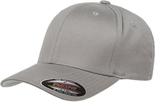 6277 Flexfit Wooly Combed Twill Cap - Small/Medium (Gray)