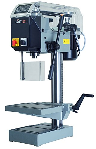Flott TB E2 Tabletop Drill Press 0.6 Horsepower, 460V 3-Phase, Heavy duty steel with cast-iron base, 15'' by Flott