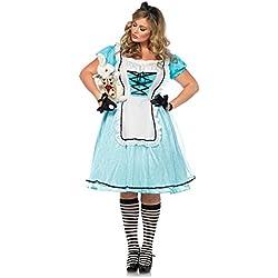 Tea Time Alice Costume - Plus Size 3X/4X - Dress Size 22-26
