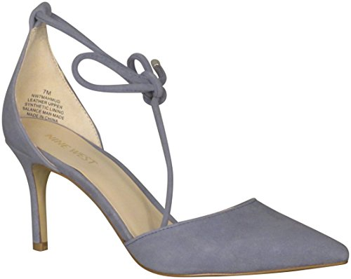 clearance best place Nine West Women's Mahmud Pump Blue Suede outlet 2015 real sale online choice cheap price many kinds of 8RCHm05