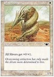 4 x Plated Sliver Legions  Magic The Gathering mtg