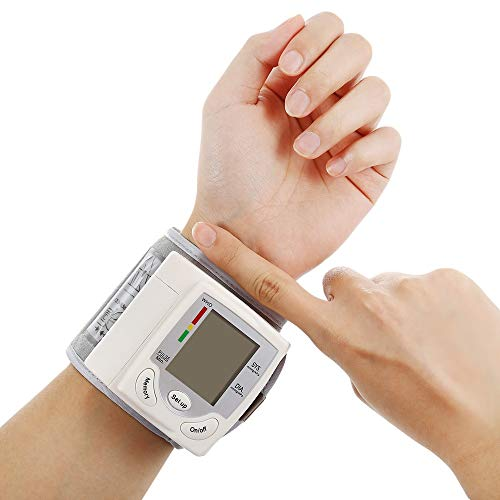 17 Monitors Broadcast Lcd - YxnGu Wrist Blood Pressure Monitor for Detects Blood Pressure Heart Rate & Irregular Heartbeat - Irregular Heartbeat Monitor with LCD Display